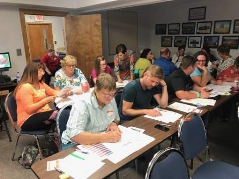 Photo of the Allen County Reading Mentoring Training,  August 19, 2019