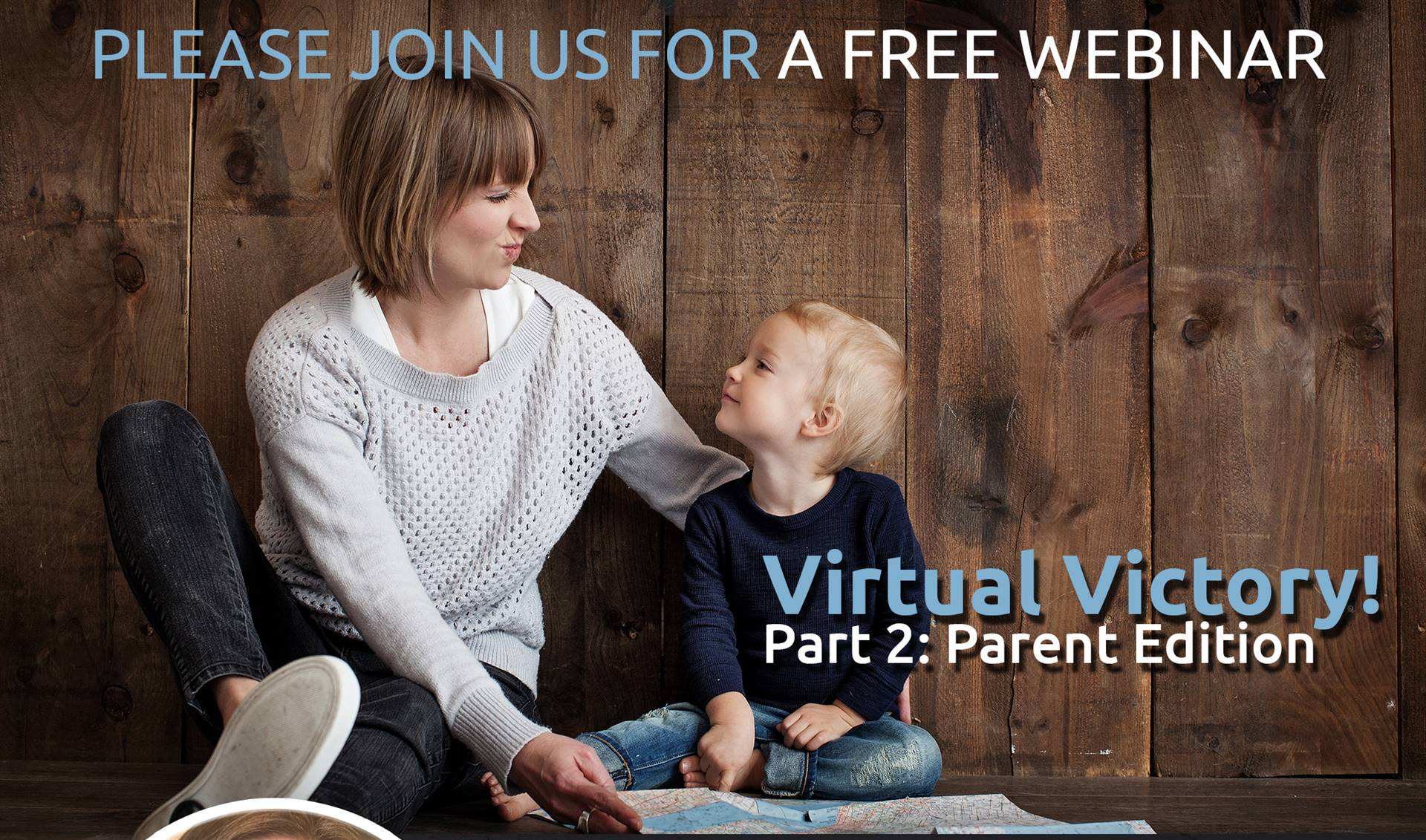 Image of Woman and Child. Virtual Victory Part 2: Parent Edition