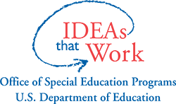 Ideas that Work, office of special programs U.S. Department of Education